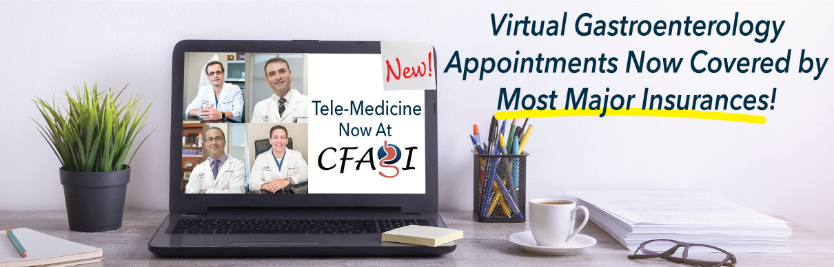 Virtual Consultations in Central Florida at Center for Advanced GI